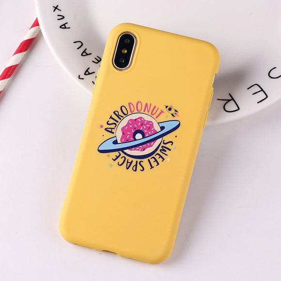 Cute Avocado Heart Funny Tropical Girls Soft Silicone Candy  Phone Case - carolay.co phone case shop