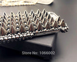 Spikes Studs Rivet  Case for iPhone 11 Pro Max - carolay.co phone case shop