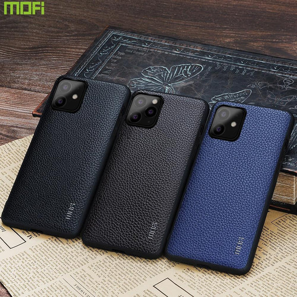 Back cover leather cloth man for iPhone 11 - carolay.co - free shipping