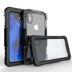 Waterproof Case Transparent Diving Sports Shockproof Cover Underwater - carolay.co phone case shop