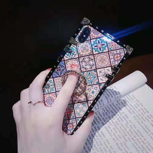Bohemian Ethnic Style Frame iPhone Case - carolay.co - free shipping