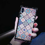 Bohemian Ethnic Style Frame iPhone Case - carolay.co phone case shop