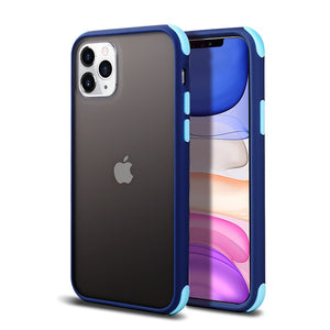 Matte Transparent Cases For iPhone Silicone Bumper - carolay.co phone case shop