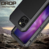 360 Full Protect Metal Aluminum Phone Case for iPhone - carolay.co - free shipping