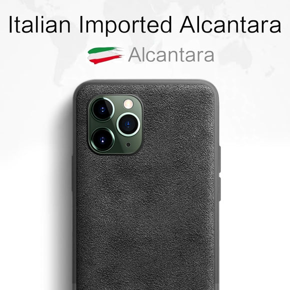 Sancore Phone Case for iPhone ALCANTARA - carolay.co phone case shop