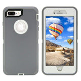 Heavy Duty Armor 3 in 1 Shockproof Protective Case Rotary Belt Clip Case - carolay.co phone case shop