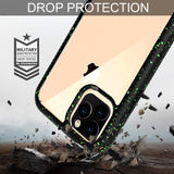 Dual Layer Hybrid Defender Crystal Shockproof Back Cover - carolay.co phone case shop