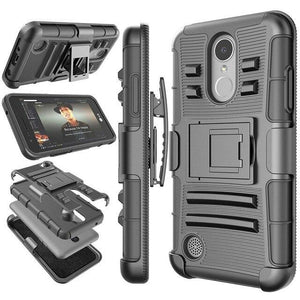 Belt Clip Hard Armor Kickstand Case for LG - carolay.co - free shipping