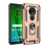Dual Layer Military Armor Case Magnetic Ring Stand Shockproof Hard Cover - carolay.co phone case shop