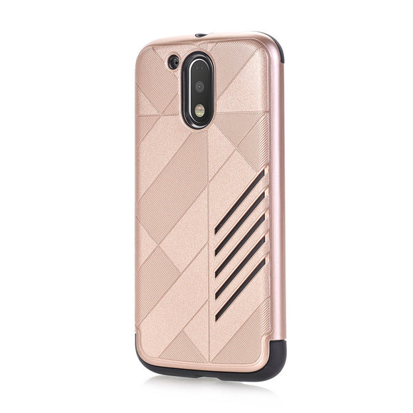 Rubber Impact Armor Protective phone case soft Hybrid Cover For Moto G4 Plus - carolay.co phone case shop