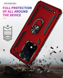 Dual-Layer Reinforced Case with Rotating Magnetic Ring  Kickstand - carolay.co phone case shop