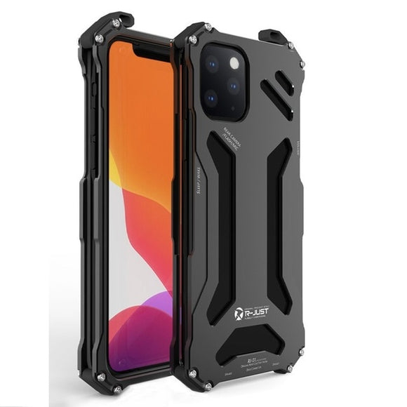Metal Armor Case Protect Cover For Hard shockproof - carolay.co phone case shop