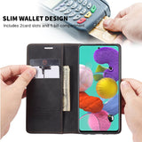 Leather Retro Purse Luxury Magnetic Card Holder Wallet Phone case - carolay.co phone case shop