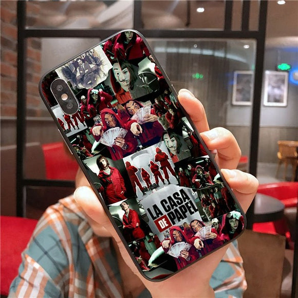 Money Heist House of Paper Phone Accessories Case for iPhone - carolay.co phone case shop