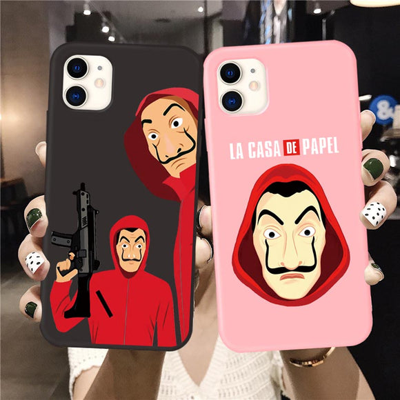 Casa de papel Phone case for iPhone - carolay.co phone case shop