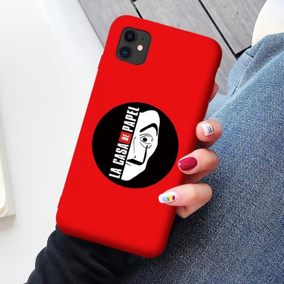 Casa de Papel Phone Case for iPhone Spanish series - carolay.co phone case shop