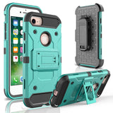 Shockproof Heavy Duty Hybrid Durable Armor Case for iPhone 7/7 Plus - carolay.co phone case shop
