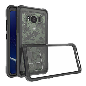 Ultra Thin Transparent Crystal Clear Cover Case For Samsung Galaxy S8 Active - carolay.co phone case shop