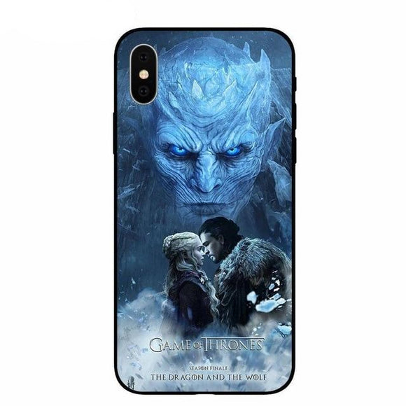 Game of Thrones Soft Phone Case For iPhone - carolay.co
