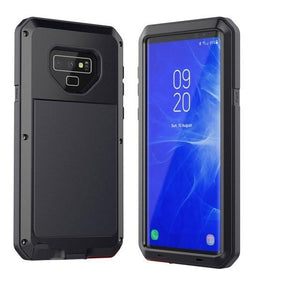 Glass Film+ Full Protective Armor Case -Metal Shockproof Cover For Samsung S8 S8 - carolay.co phone case shop