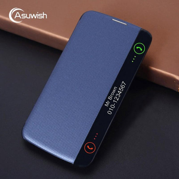 Asuwish Flip Cover Leather Case For LG K10 LTE 2016 K 10 LGK10 K102016 K10LTE K420N K430 K430DS F670 - carolay.co phone case shop