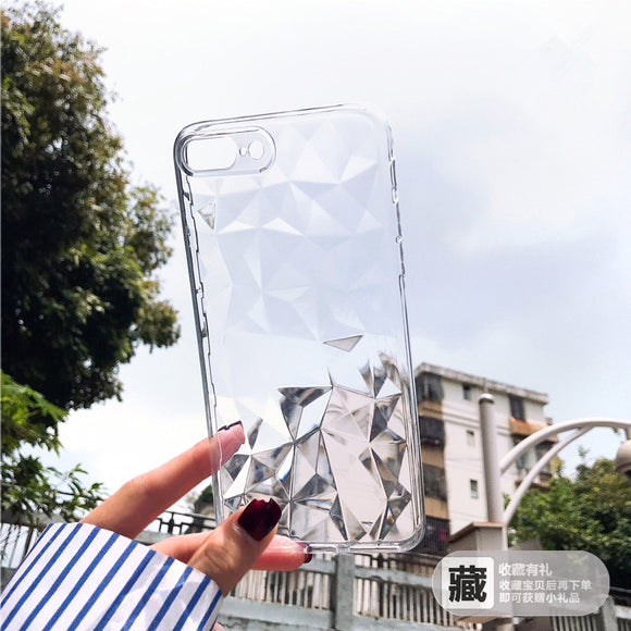 Soft Silicon For iphone 8 plus case luxury For Iphone7 7Plus X XS 6 Plus - carolay.co phone case shop