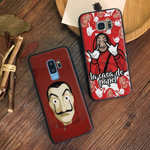 La Casa De Papel Money Heist Coque TPU Soft Silicone Phone Case Shell Cover - carolay.co phone case shop