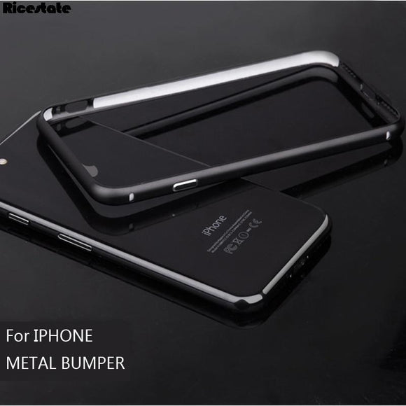 Aluminum Metal Bumper For iPhone 7 Plus Protective Shield Frame For iphone X XS MAX XR 5 6 7 8 Plus - carolay.co - free shipping
