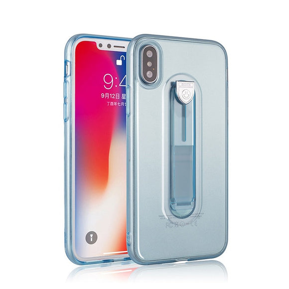 Transparent Phone Case For iPhone X 7 8 6 6S Plus - carolay-co