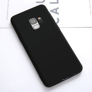 Luxury Soft Liquid Silicone Cases For Samsung Galaxy S8 - carolay.co phone case shop