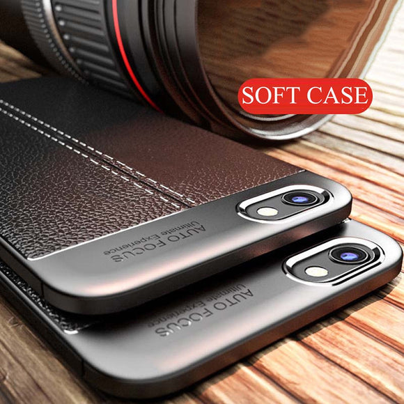 Cover For LG G6 G7 Q6 Q6 plus Slim Shockproof Leather - carolay.co phone case shop
