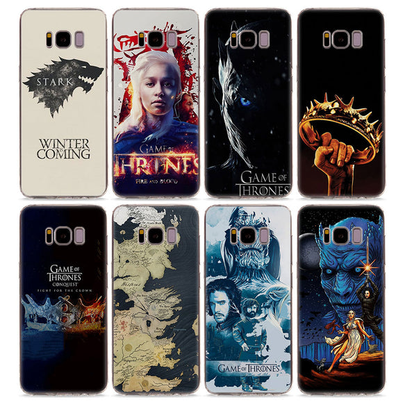 Game of Throne Soft SiliconePhone Case for Samsung Galaxy S8 S9 - carolay-co