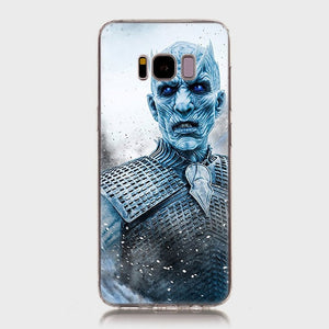 Game of Throne Soft SiliconePhone Case for Samsung Galaxy S8 S9 - carolay.co phone case shop