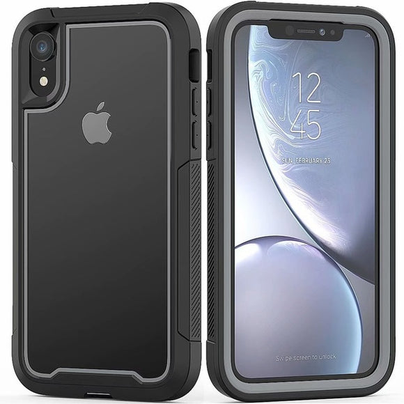 Case For Iphone XS Max X XR 7 8 Plus Case Full-Body Rugged Clear Bumper - carolay.co phone case shop