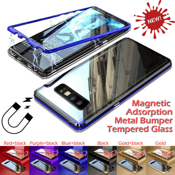 Full Body Magnetic Cover Case For Samsung Galaxy - carolay.co phone case shop