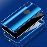 Plating Full Body Protective Shockproof Hybrid  Cover +Tempered Glass for iPhone - carolay.co phone case shop