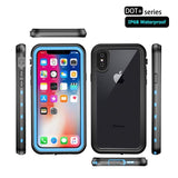 360 Protect for Apple iPhone XS Max Case Water Proof Clear Back Front Cover for iPhonex - carolay.co - free shipping