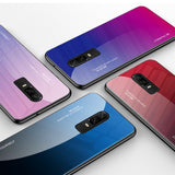 Case For OnePlus 6T 6 Tempered Glass Gradient Case one plus 1+6 1+6T Back Cover - carolay.co phone case shop