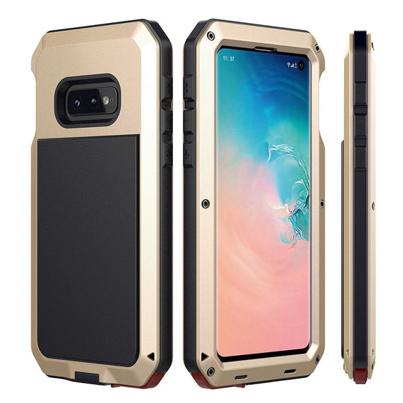Doom armor Metal Aluminum phone Case for Samsung - carolay.co phone case shop