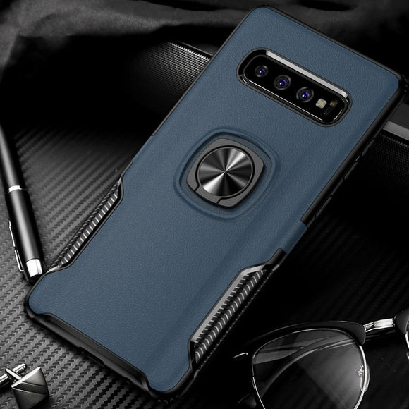 Toraise For Samsung S10 Case Metal Ring  Silicone Case [variant_title] - carolay.co