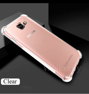 Shockproof Clear Soft Silicone Armor Case for Samsung Galaxy  S10 Plus - carolay.co phone case shop