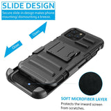 Armor Case with Kickstand Belt Clip Cover For iPhone - carolay.co - free shipping