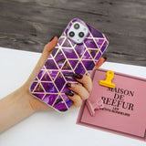 Marble Glossy Soft Slim Back Case For iPhone - carolay.co