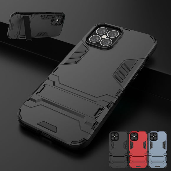 Hybrid Shockproof Armor Kickstand Case For iPhone