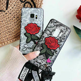 Shockproof Cute Girl Phone Cover Case - carolay.co phone case shop