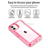 Clear Crystal Case for iPhone 11 Pro XS MAX X XR 6 7 8 Plus W/ Clip Belt Stand - carolay.co phone case shop