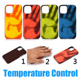 Heat Sensitive Thermo Sensor Color Changing Case For iPhone - carolay.co phone case shop