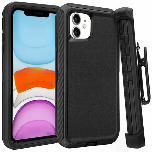 Shockproof Case Cover Belt Clip Fits Otterbox For iPhone 11/Pro/Max - carolay.co phone case shop