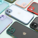 case Shockproof Bumper Hard For iPhone - carolay.co phone case shop