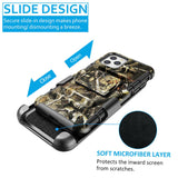 Camo Case with Kickstand Belt Clip Holster Cover for iPhone - carolay.co phone case shop